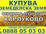 Обява Карлуково, Беленци, Ловеч, Бежаново, Ъглен