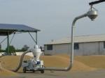 Обява Товарене на зърно с пневматичен зърно-товарач