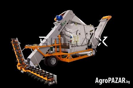 ALFA-MGC  мобилен комплекс за почистване на зърно