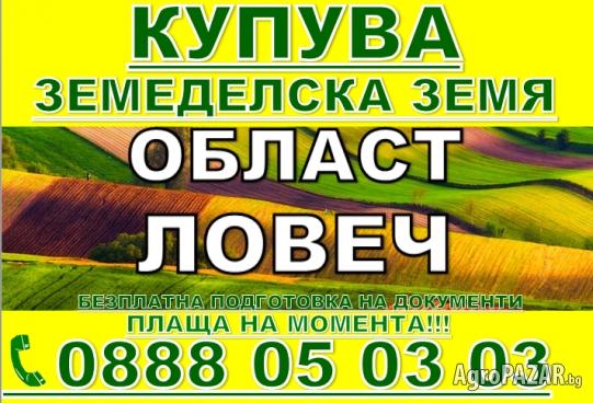 Купува земделска земя Ловеч, Летница, Крушуна, Горско С.