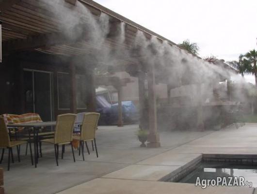 охладителна система с водна мъгла AQUA FOG 15