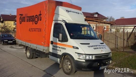 Транспортни услуги-мебели, багаж, палета, техника.Хамали.