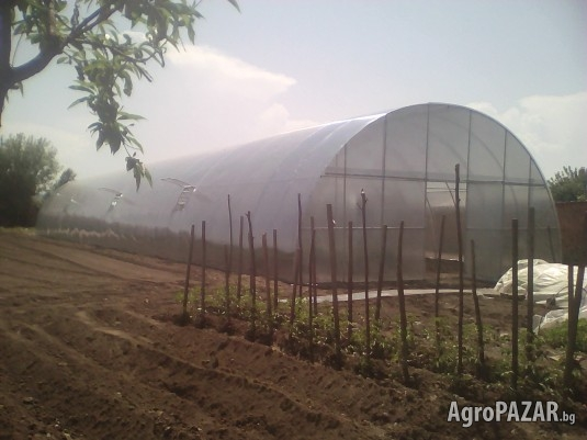 Изработка на професионални и градински поликарбонатни оранжерии